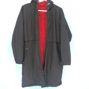 Sporti After-Swim Fleece Lined Parka Youth Large